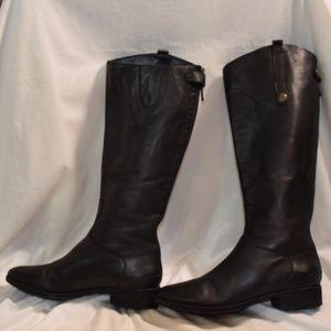 Sam Edelman Shoes - Sam Edelman Penny Riding Tall Boot Black SZ 11